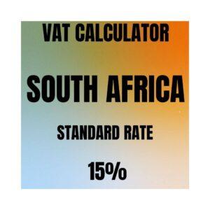 vat calculator south africa