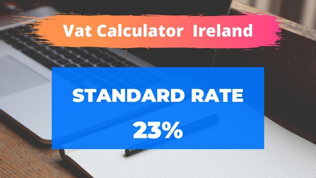 vat calculator Ireland