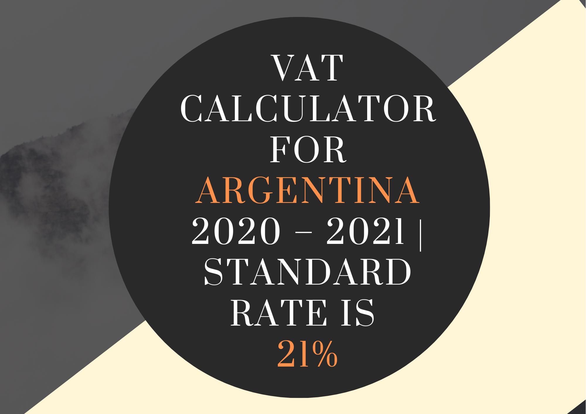 Vat Calculator Argentina