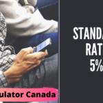 VAT Calculator Canada [ Standard rate of Vat in Canada is 5% ]