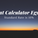 VAT Calculator Egypt [ Standard Rate of Vat in Egypt is 10% ]