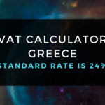 VAT Calculator Greece [ Standard rate of Vat in Greece is 24% ]