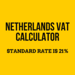 Netherlands VAT calculator