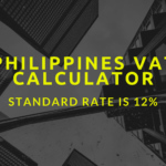 VAT Calculator Philippines | Standard rate of Vat in Philippines is 12%