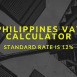 Philippines VAT calculator