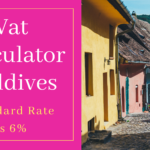 VAT Calculator Maldives - Standard rate of Vat in Maldives is 6%